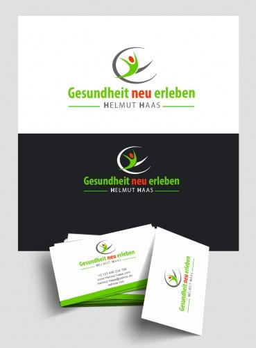 Logo Visitenkarten Design Für Gesundheitsb Logo