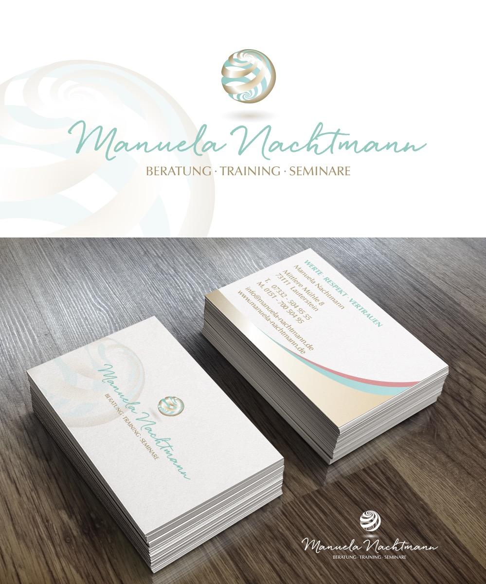 Logo Design Und Visitenkarten Für Coaching Logo