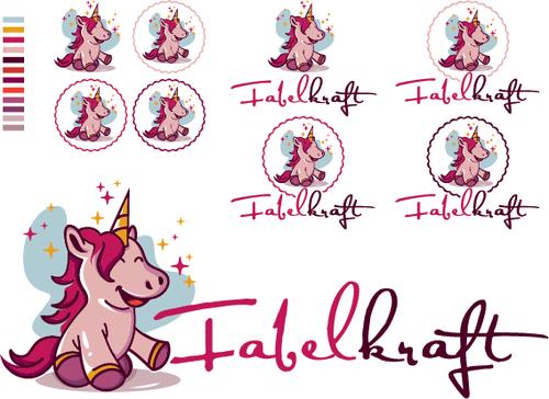 Logo-Design für Kinderwaschlappen und Stoffwindelzubehör