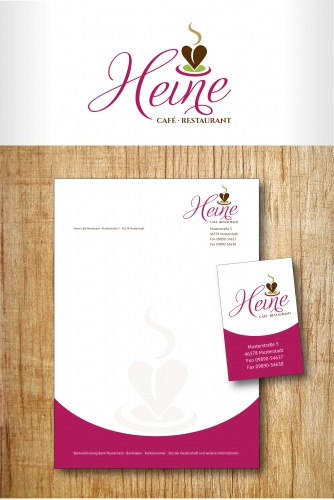 Cafe Heine sucht Logo