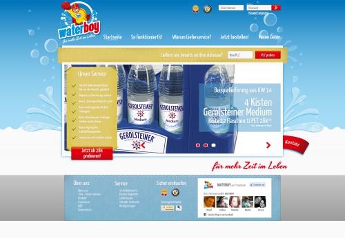 Startseite und Logo für Bringdienst zzgl. Menüseiten - Eilauftrag