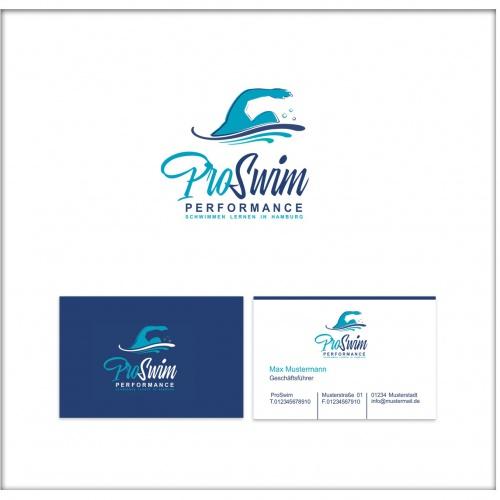 Logo-Design für Schwimmschule
