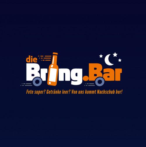 Getränke-Nachtlieferdienst sucht Logo