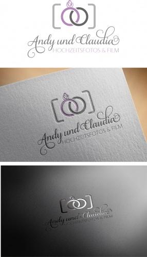 Logo für den Aufbau einer neuen Marke für den Bereich Hochzeitsfotografen und Film