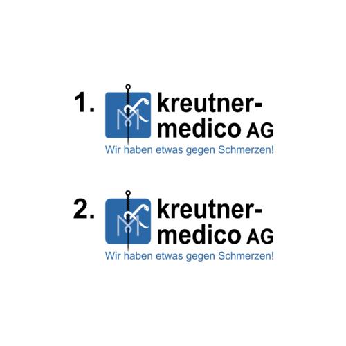Logo-Design für kleines Unternehmen im Vertrieb medizintechnischer Produkte
