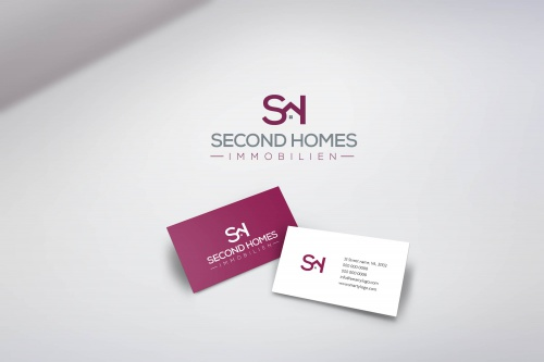 Logo Visitenkarte Für Immobilienmakler Logo Business