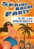 Plakat für eine Party