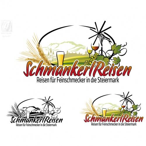 Logo-Design für Veranstalter von Reisen in die Südsteiermark
