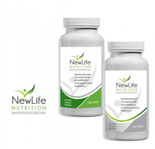 Neues Firmenlogo New Life Nutrition