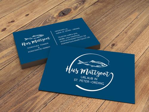 Logo & Visitenkarte für Hotel an der Nordsee