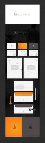 Corporate Design für Musiker Backoffice Dienstleister