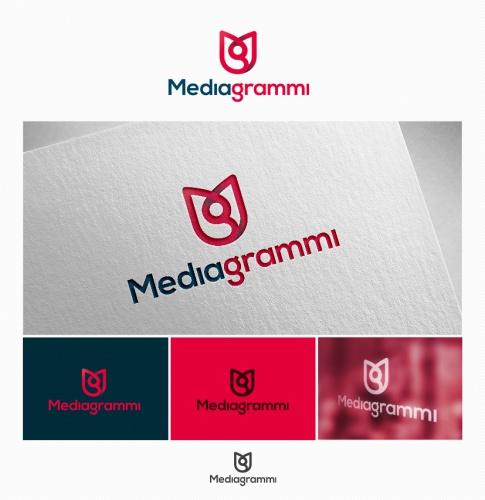 Corporate Design für Mediagrammi - innovatives Unternehmen im Bereich App-Entwicklung und Kultur