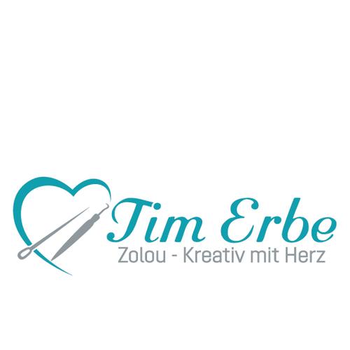 Logo-Design für Nähen und Besticken von Kleidung