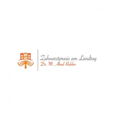 Ein Logo für die Zahnarztpraxis am Landtag