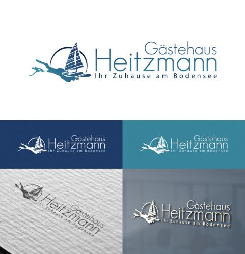 Logo-Design für Gästehaus am Bodensee
