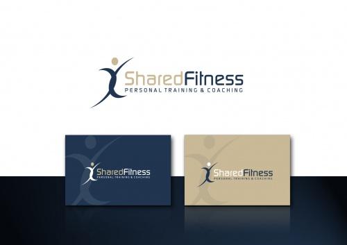 Logo voor personal training / coaching staff in de fitness / gezondheid