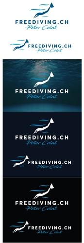 Logo-Design für Freitauchen-Kurse