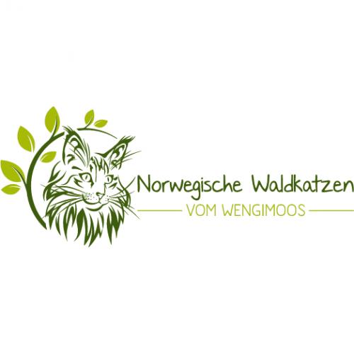 Logo-Design für Norwegische Waldkatzenzucht