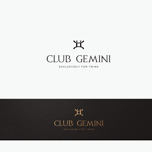 Logo-Design für Private und Business Club für Zwillinge