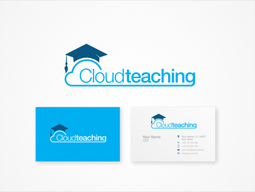 Logo-Design für cloudteaching