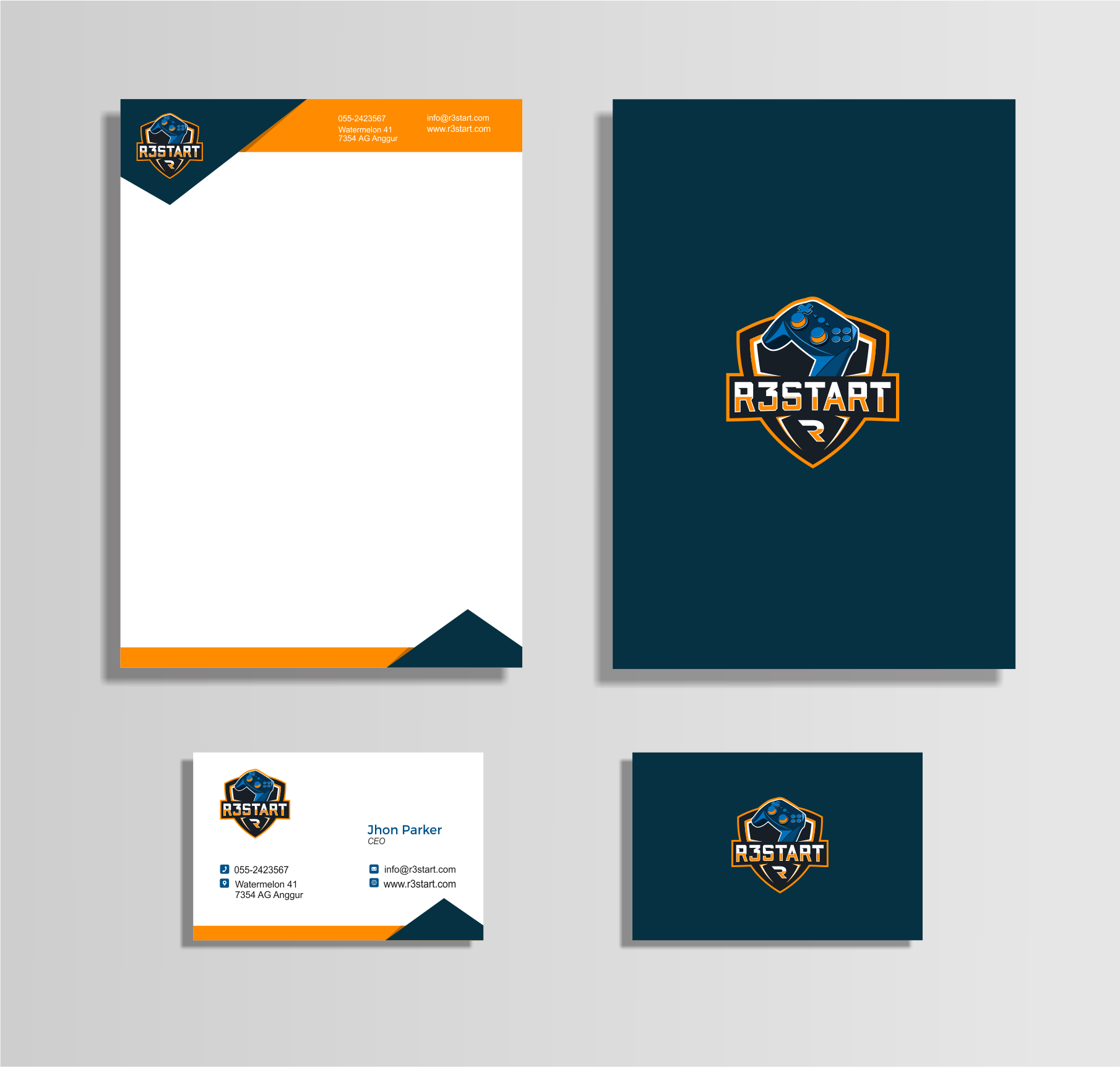 Corporate Design - Found Designer - No more designs needed, thanks for participation!
