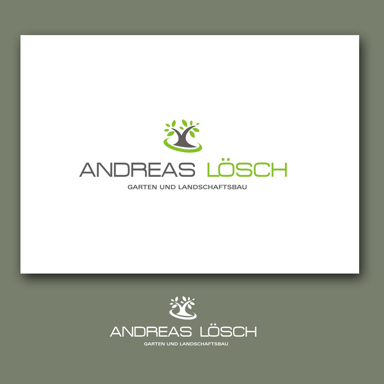 Garten Und Landschaftsbau Andreas Losch Logo Design
