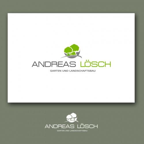 Garten und landschaftsbau visitenkarten  Garten und Landschaftsbau - Andreas Lösch » Logo-Design ...