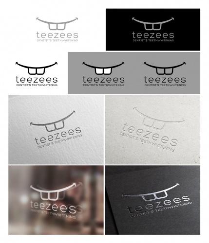Logo für einen Online-Shop für professionelle Zahnaufhellung