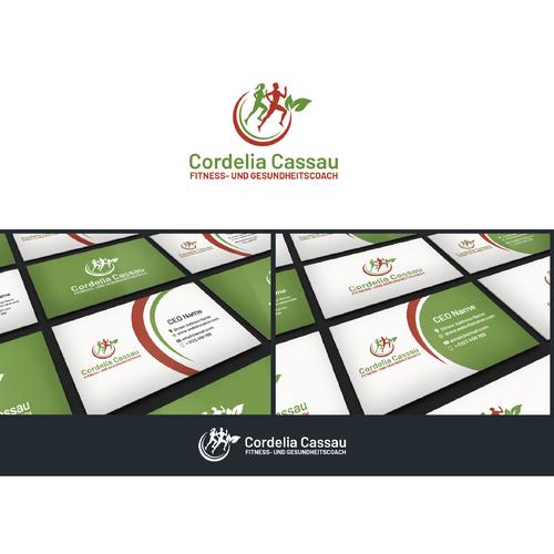 Logo & Visitenkarte für Fitnesstraining und Gesundheitssport