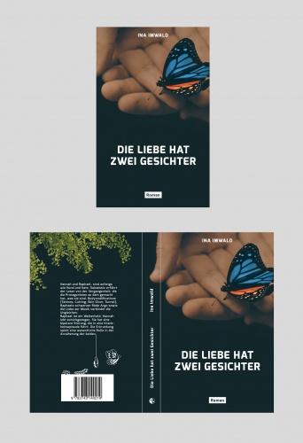 Covergestaltung für Print-Taschenbuch  Format: 13,5x21,5 cm
