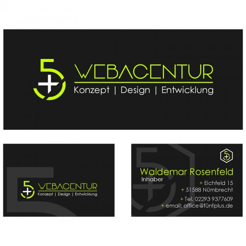 Logo & Visitenkarte für eine Webdesign Agentur