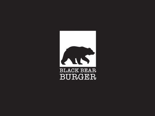 Logo design for Black Bear Burger