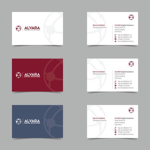 Visitenkarten-Design für Anbieter von Softwarelösungen rund ums Bargeld