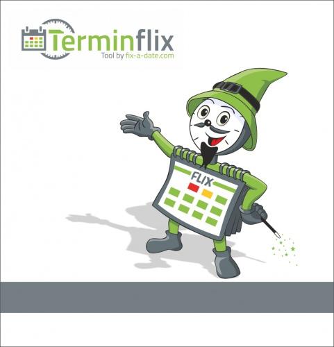 Maskottchen für Anbieter von Terminformularen gesucht