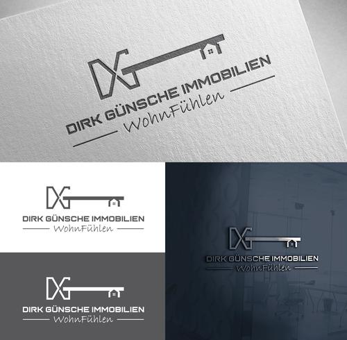 Logo-Design für Immobilienmakler und Verkehrswertermittlung