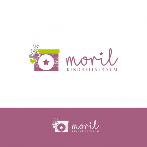 Logo-Design für moril - Kindheitserinnerungen