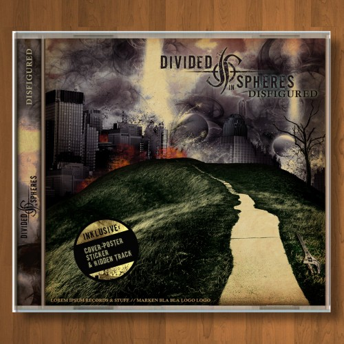 Divided in Spheres CD Cover und Booklet