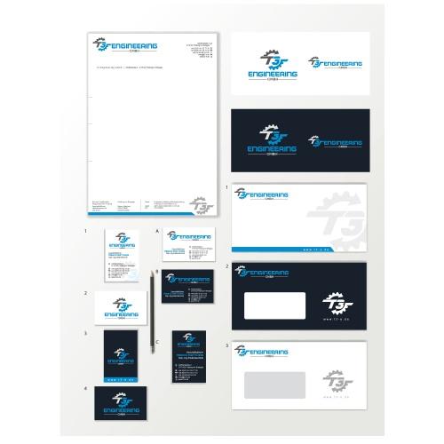 Corporate Design Update für T3-Engineering GmbH