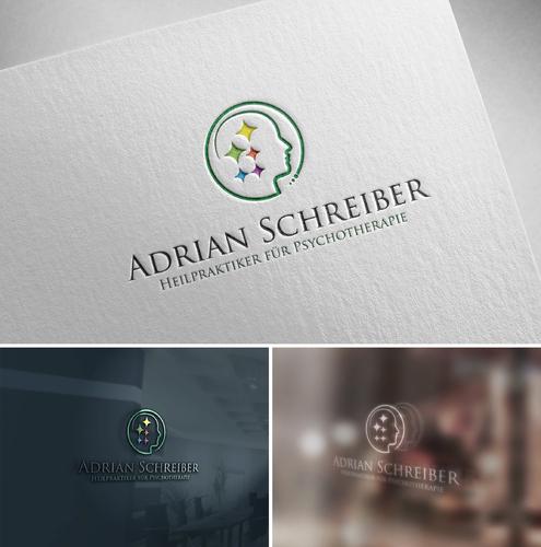 Logo-Design für Psychotherapie Heilpraktiker