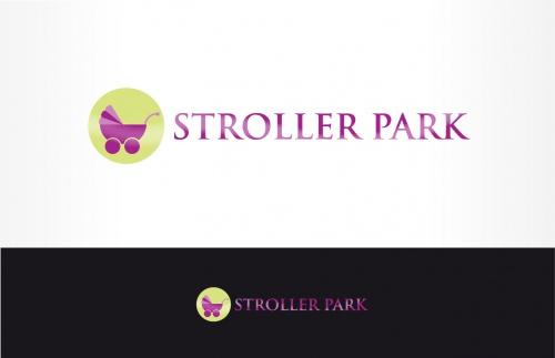 Logo für einen Kinderwagen Verleihshop