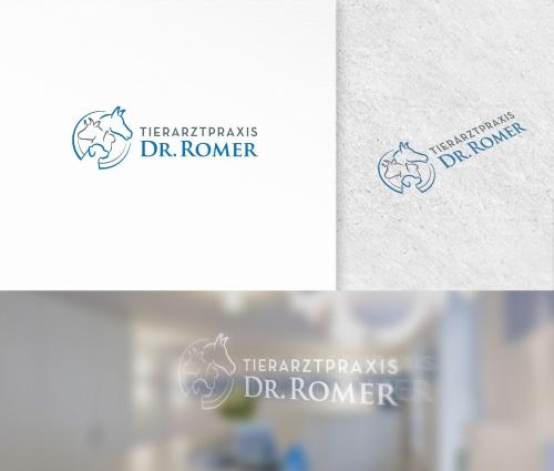 Logo voor de veterinaire praktijk