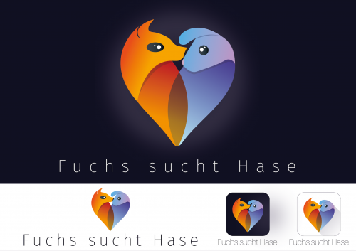Logo-Design für Dating Internetseite