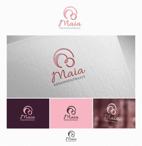Logo-Design für Hebammenpraxis Maia