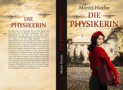 Buch-/E-Book-Cover für History-Thriller Die Physikerin