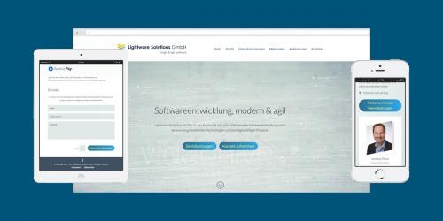 Webdesign für Software Ingenieurbüro