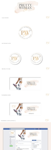 Logo & Social Media Paket für Frauen Fitness-Studio