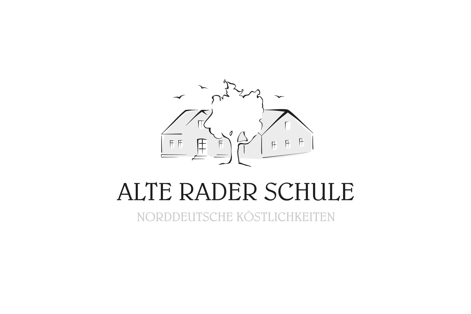 Logo design f r alte schule gasthaus logo design for Design schule