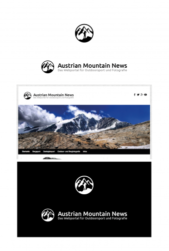 Logo-Design für Austrian Mountain News
