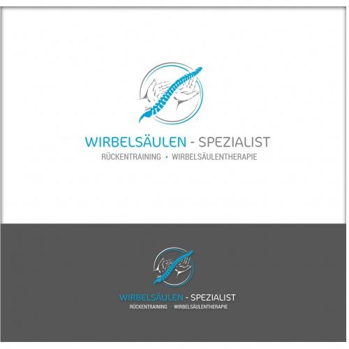 Logo-Design für Wirbelsäulentherapie