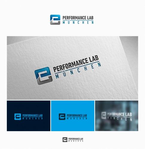 Logo-Design für performance lab münchen